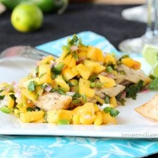Grilled Chicken and Mango Salsa