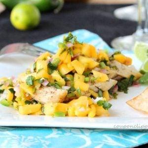Grilled Chicken and Mango Salsa
