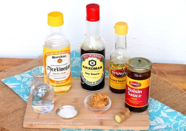 Peanut Sauce Dressing Ingredients