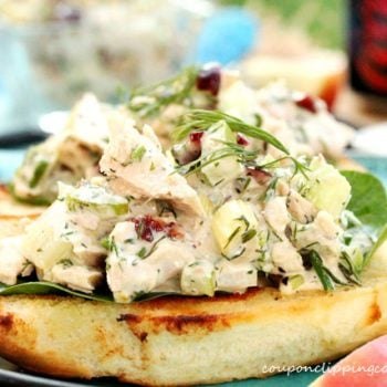 Tuna Salad with Dill and Dried Cranberries