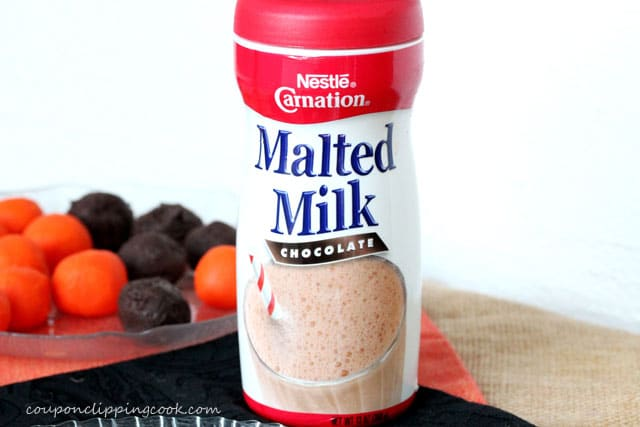 Canister of Chocolate Malted Milk