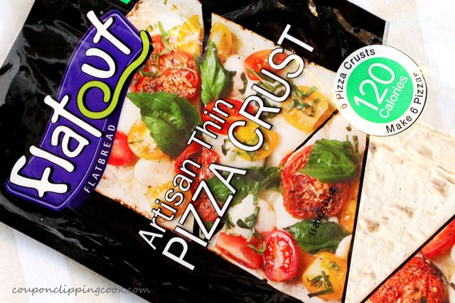 Package of flatbread for pizza