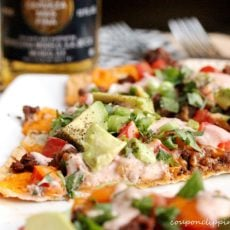 Mexican Pizza Flatbread