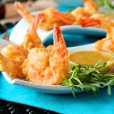 Tempura Shrimp with Dipping Sauce