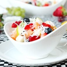 Coconut Fruit Salad