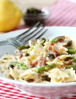 Browned Butter Pasta with Bacon
