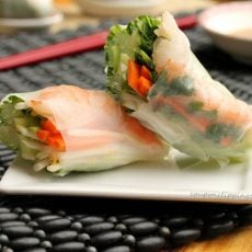 Shrimp Fresh Spring Rolls