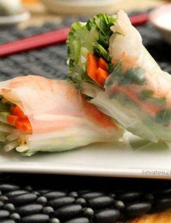 Shrimp Fresh Spring Rolls