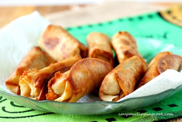 Cheese and Jalapeno Taquitos