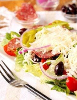 Antipasto Salad with Salami