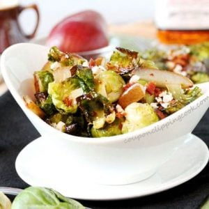 Bourbon and Maple Brussels Sprouts