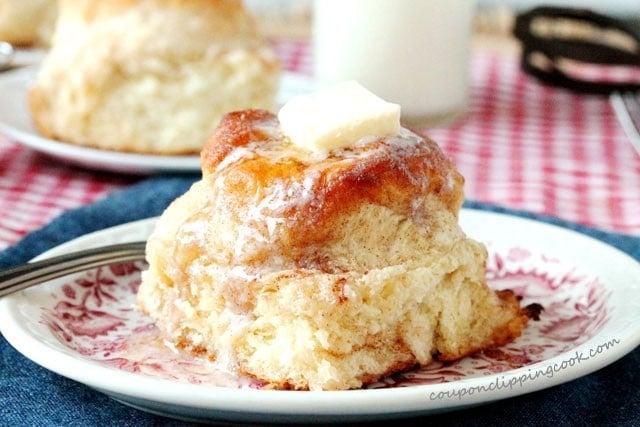 Snickerdoodle Skillet Biscuits
