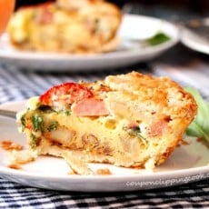 Potato Ham and Egg Breakfast Pie