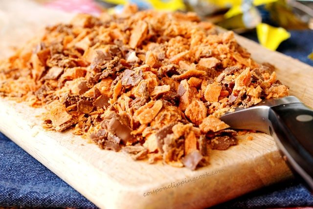 Chopped Butterfinger Candy Bars