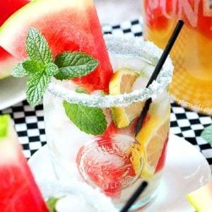Watermelon Lemon Mint Green Tea