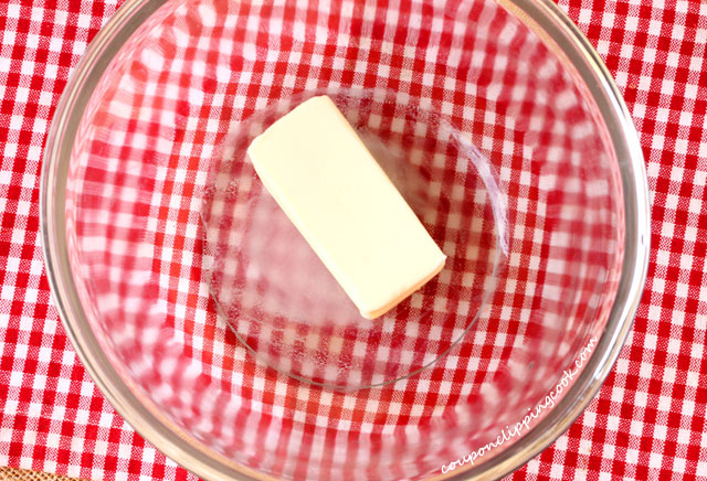 Softened Butter in Bowl