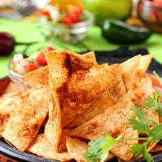 Chipotle Lime Tortilla Chips