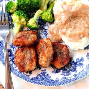 Chicken Fried Pork Medallions
