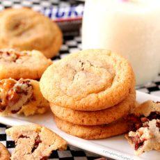 Snickers Snickerdoodle Cookies