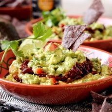 Layered Chipotle Guacamole
