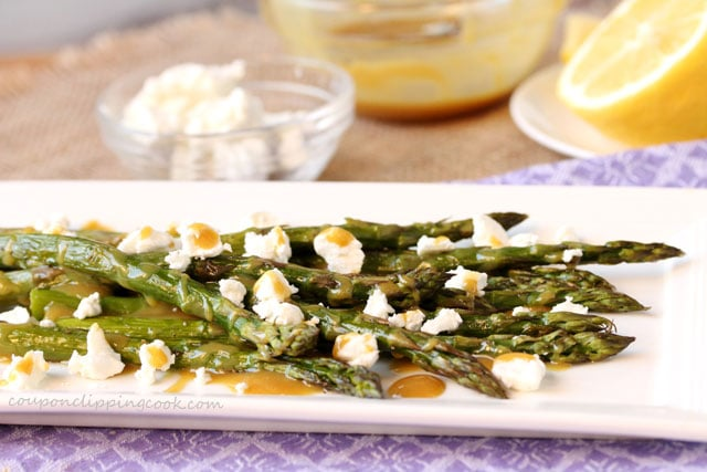 Crisp Pancetta Sauteed Asparagus With Goat Cheese Crumbles ...