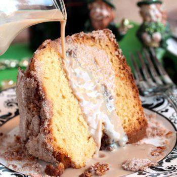 Coffee Cake with Baileys Irish Cream
