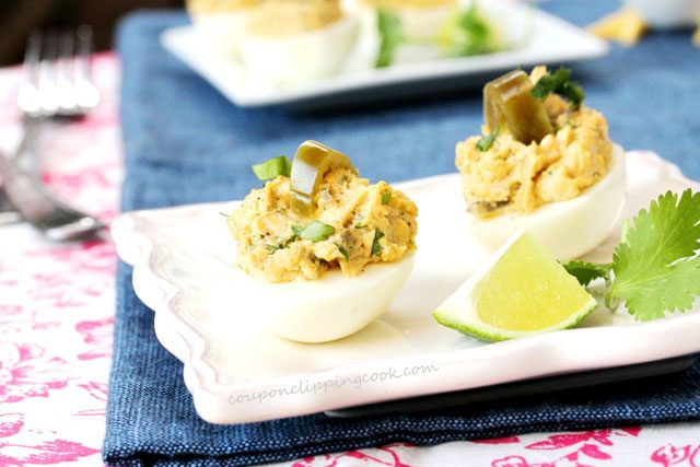 Jalapeno Deviled Egg