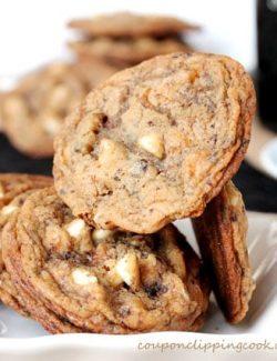 Baileys and Coffee White Chocolate Cookies