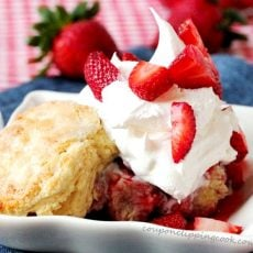 Sugar Biscuit Strawberry Shortcake