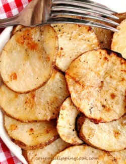 Grilled Potato Slices