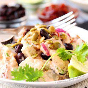Chipotle Lime Potato Salad