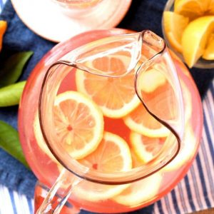 Pitcher of Pink Lemonade
