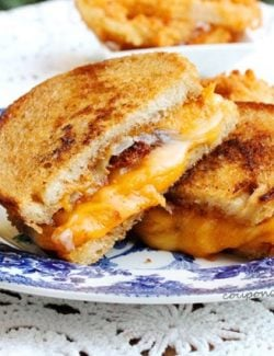 Browned Butter Grilled Cheese