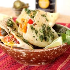 Pita Cheese Quesadillas in Bowl