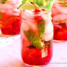 Cherry and Lime Shirley Temple