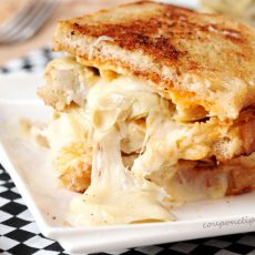 Artichoke Grilled Cheese Sandwich