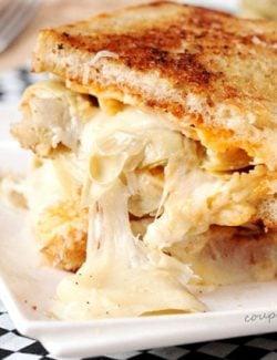 Artichoke Grilled Cheese Sandwich