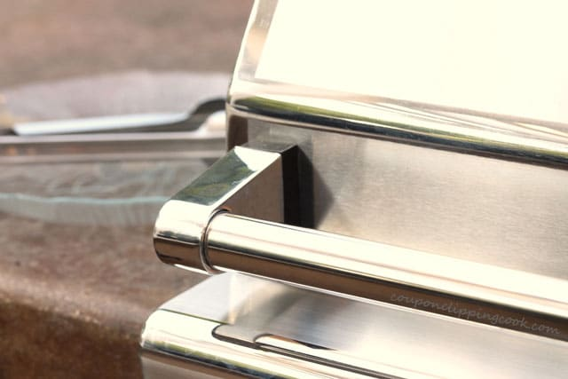 Closed Lid on barbecue grill