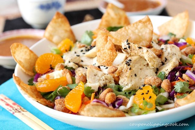 Chinese Chicken Salad in bowl