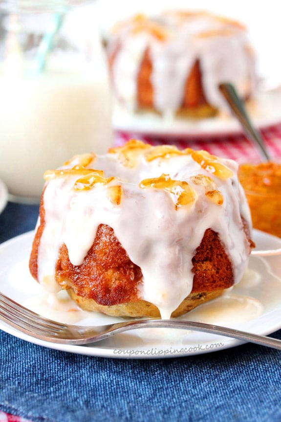 Glazed Pineapple Banana Bundt Cakes Coupon Clipping Cook