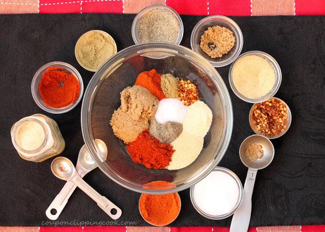 Spices for Pork Carnitas ingredients