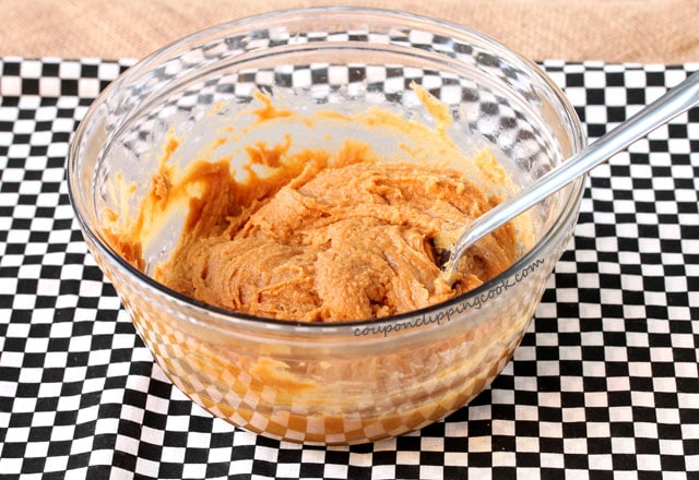 Peanut Butter Cookie dough in bowl