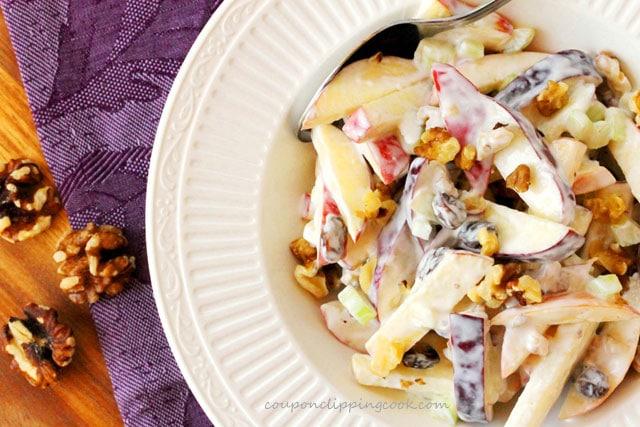 Apple and Walnut Salad with Yogurt