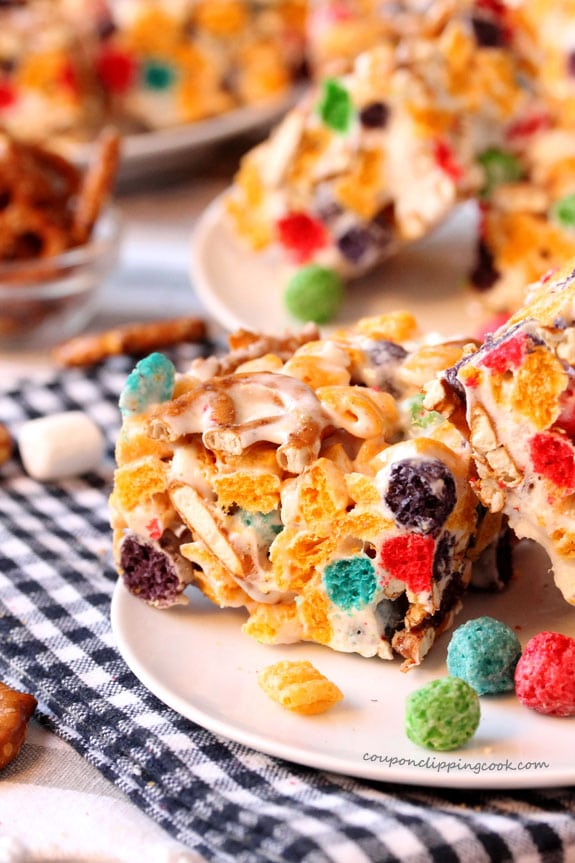 Captain Crunch and Pretzel Krispie Treats