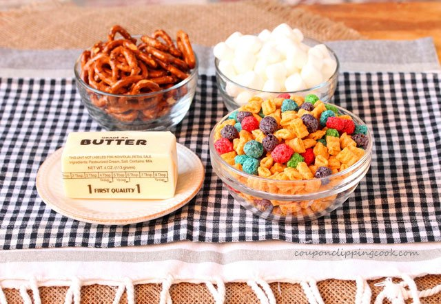 Captain Crunch Pretzel Krispie ingredients