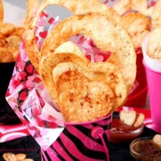 Valentine Heart Shaped Tortilla Chips