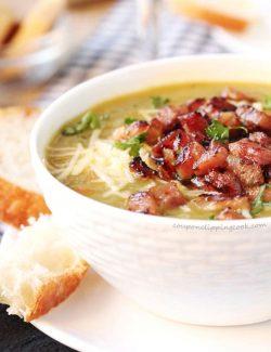 Crockpot Split Pea and Ham Soup