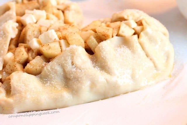 Apple pie filling dough