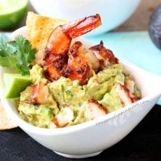 Chipotle Shrimp Guacamole