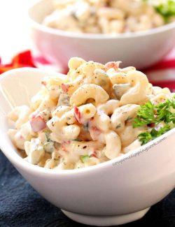 Elbow Macaroni Potato Salad